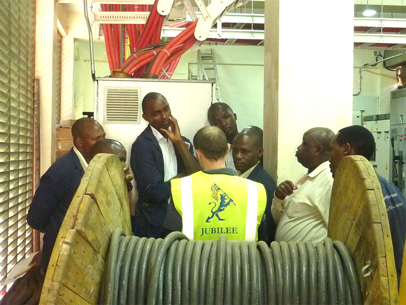Mombasa commissioning